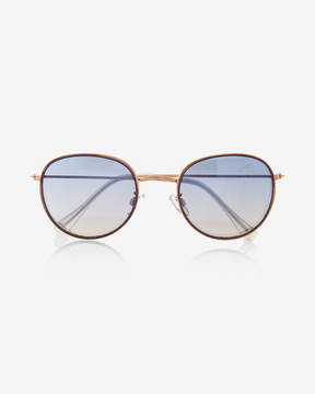 Express Small Round Sunglasses