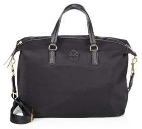 Tory Burch Scout Slouchy Satchel - BLACK - STYLE