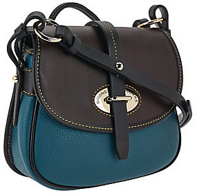 Dooney & Bourke As Is Verona Leather Cristina Crossbody Bag