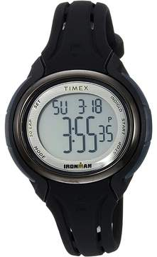 Timex Ironman Sleek 50 Oval Mid-Size Silicone Strap Watches
