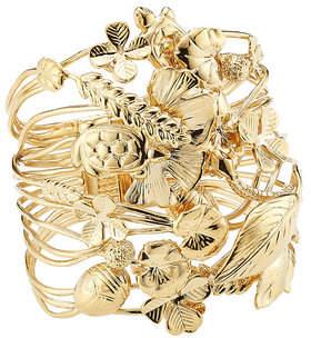Aurelie Bidermann 18K Yellow Gold Plated Bracelet