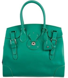 Ralph Lauren Bicolor Soft Ricky Bag
