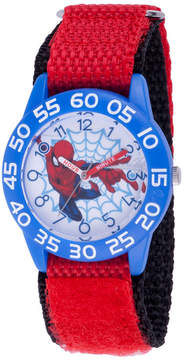 Marvel Spiderman Boys Red Strap Watch-Wma000179