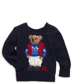 Ralph Lauren Baby's Bear Sweater
