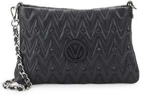 Mario Valentino Valentino by Women's Studded Leather Shoulder Bag