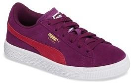 Puma Girl's Suede Sneaker