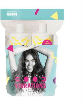 Paul Mitchell Neon Good Vibrations Liter Duo 2-pc. Value Set - 67.6 oz.