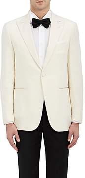 Isaia Men's Wool-Blend One-Button Tuxedo Jacket
