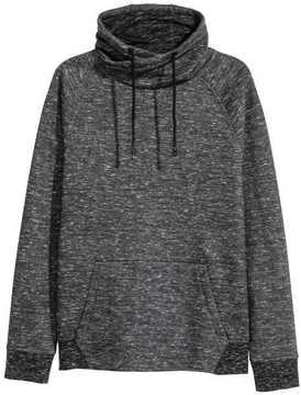 H&M Chimney-collar Sweatshirt