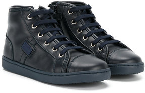 Dolce & Gabbana Kids high-top sneakers