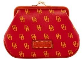 Dooney & Bourke Gretta Large Framed Purse - RED - STYLE