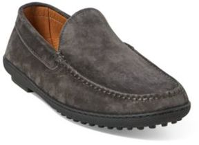 Ralph Lauren Ronan Suede Driving Loafer Charcoal 10 D