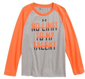 Under Armour Toddler Boy's No Limit To My Talent Raglan Shirt