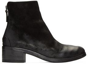 Marsèll Black Nubuck Listo Boots