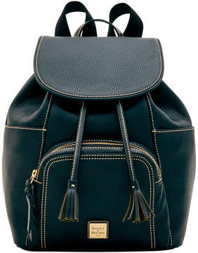 Dooney & Bourke Pebble Grain Large Murphy Backpack - BLACK BLACK - STYLE