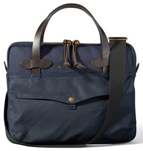 Filson Canvas Tablet Briefcase - Blue