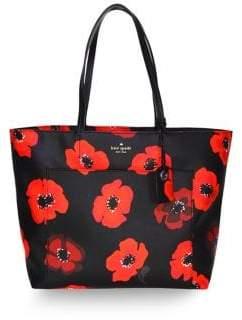 Kate Spade Riley Floral Shopper Bag - ROSE - STYLE