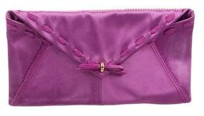 Nina Ricci Satin Envelope Clutch