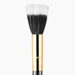 Sigma Beauty F55 Small Duo Fibre Brush - Black/18K Gold