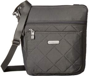 Baggallini Quilted Pocket Crossbody with RFID Wristlet Cross Body Handbags