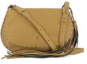Henry Beguelin Women's Yellow Leather Shoulder Bag.