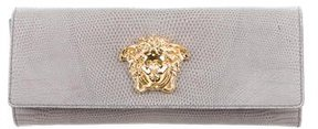 Gianni Versace Embossed Medusa Clutch