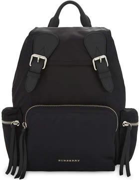 Burberry Logo nylon backpack - BLK BLK - STYLE