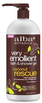 Alba Very Emollient Coconut Rescue Bath & Shower Gel - 32oz