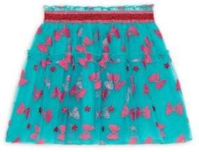 Gucci Little Girl's& Girl's Taffeta Bow Flock Skirt