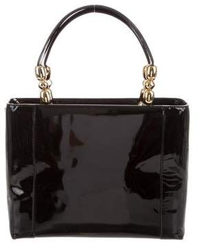 Christian Dior Leather Malice Tote