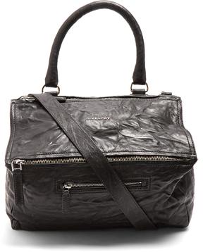 GIVENCHY Pandora medium paper-leather bag