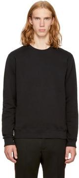 MSGM Black Back Logo Sweatshirt