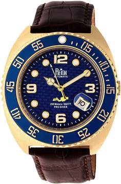 Reign Quentin Automatic Blue Dial Men's Watch