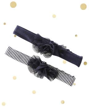 Petit Bateau Pack of 2 baby girl's hairbands