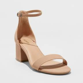 Merona Women's Marcella Block Heel Sandal Pumps