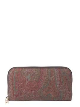 Etro Paisley Medium Wallet