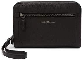 Bally Zip Around Leather Wallet