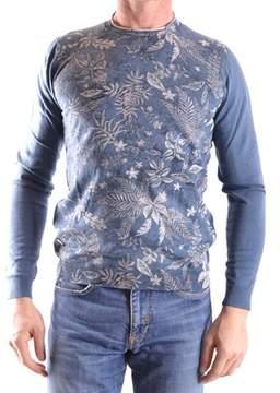 Fred Mello Men's Blue Cotton T-shirt.