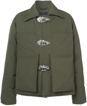Craig Green clasp-detail padded jacket
