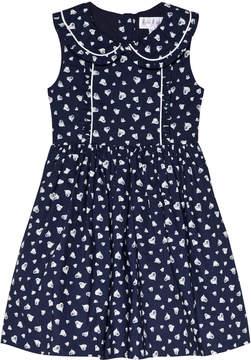 Rachel Riley Heart Frill Dress