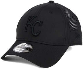 New Era Kansas City Royals Black/Black Perf Tech 9FORTY Adjustable Cap