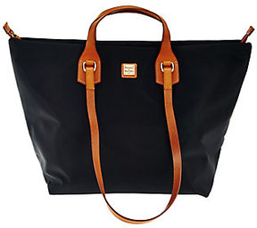 Dooney & Bourke As Is Extra Large Windham Nylon Leighton Tote