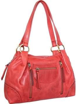Nino Bossi Emery Leather Satchel (Women's)