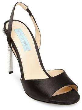 Betsey Johnson Naomi Faux Pearl Stiletto Sandal