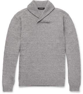 Ermenegildo Zegna Slim-Fit Shawl-Collar Cashmere Sweater