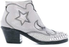 McQ Solestice zip boots