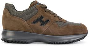 Hogan branded sneakers