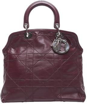 Christian Dior Granville leather handbag