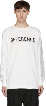 Yang Li Off-White Long Sleeve Samizdat Reference T-Shirt