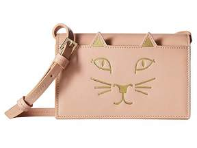 Charlotte Olympia Feline Purse Wallet Handbags